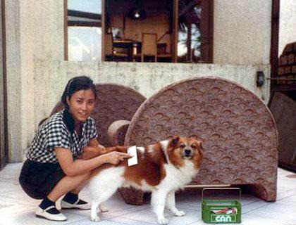 Liza's first dog - Pig Pig A_1