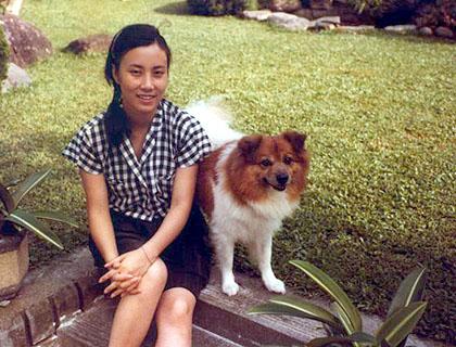 Liza's first dog - Pig Pig A_2