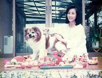 Liza's first dog - Pig Pig D_1